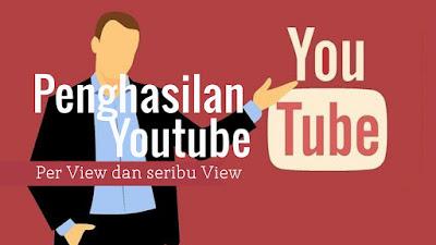 Penghasilan Youtube per View