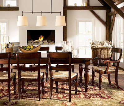 How to decorate a living room and dining rooms