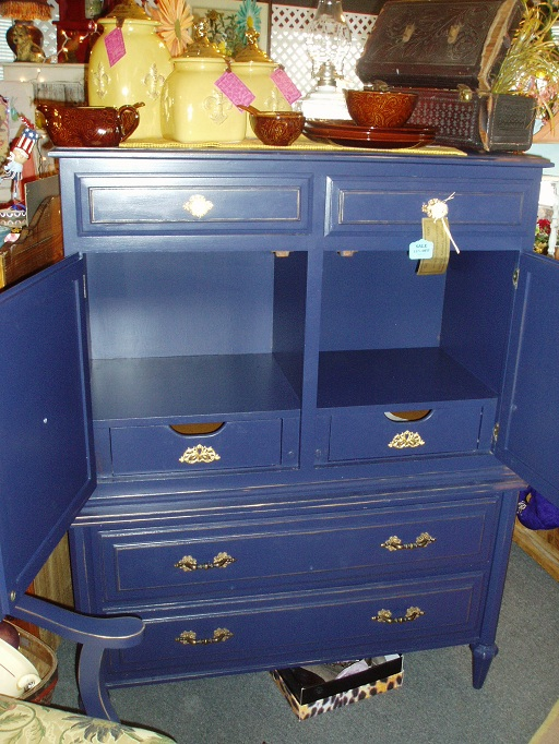 Faux Painting Furniture Sold Vintage Regal Navy