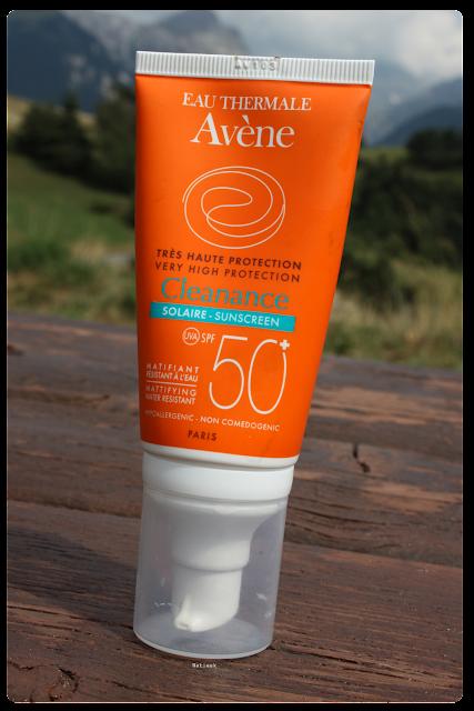 peau acneique Cleanance  solaire d'Avène