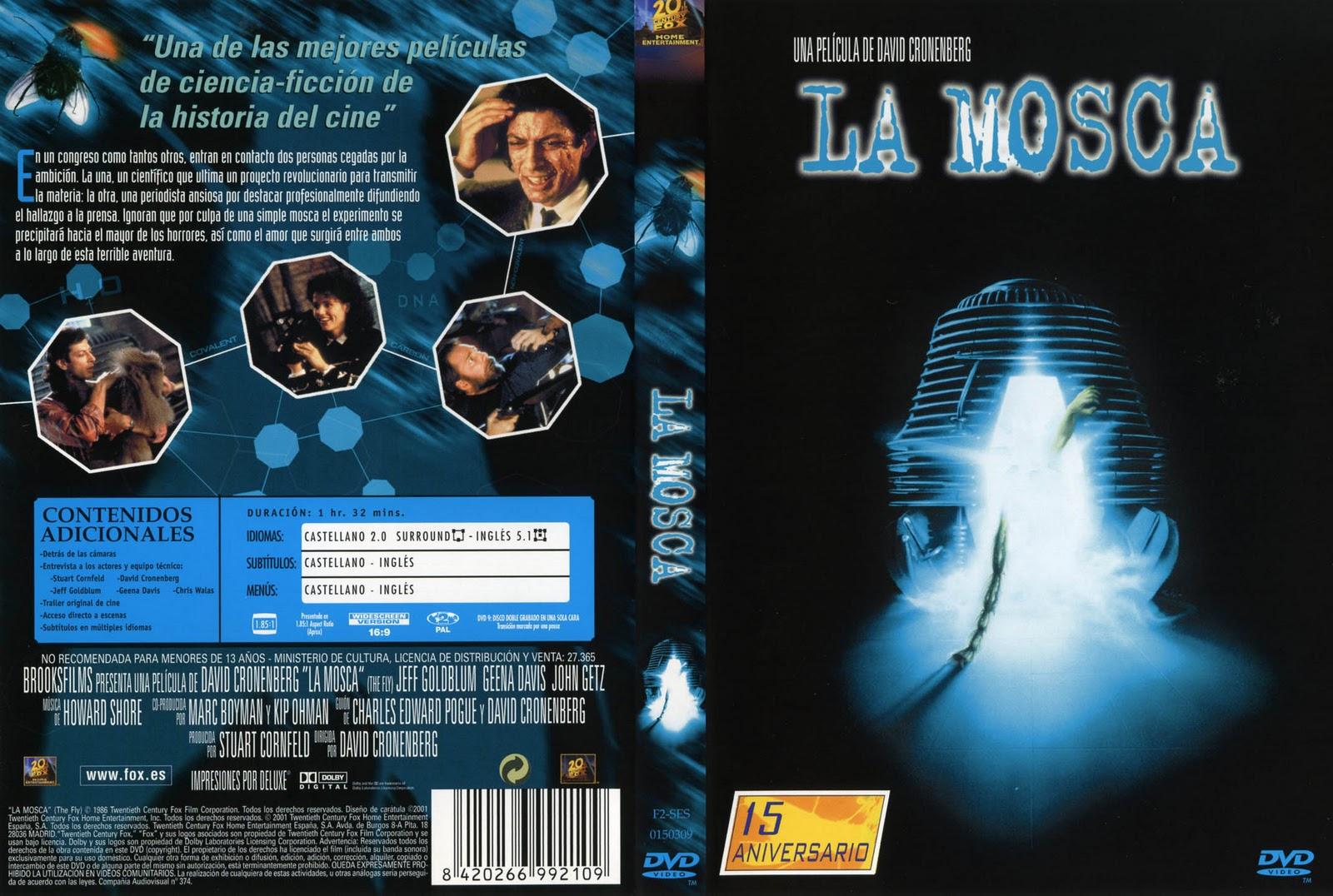 La Mosca [1986] [Castellano] Descargar y ver Online Gratis
