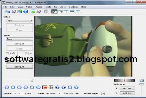 Free Download Software Avidemux Untuk Edit Video