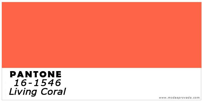 A cor do Ano 2019 moda masculina living coral