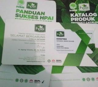 cara menjadi member HPAI HNI : starter kit