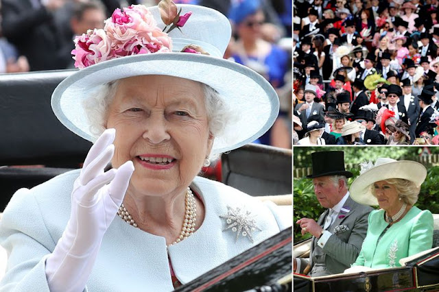 Royal Ascot 2018: The Queen joins Prince Charles and Camilla for royal procession hours after carriage horse broke lose