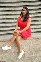 Shravya Reddy in Short Tight Red Dress Spicy Pics ~  Exclusive Pics 044.JPG