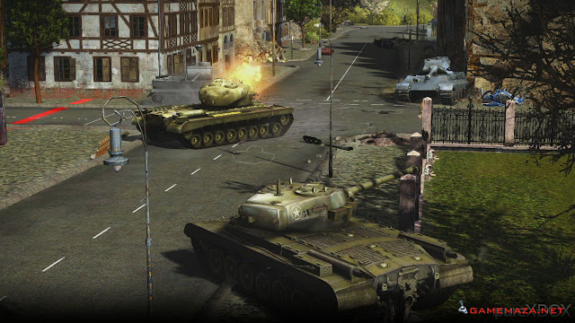 World of Tanks Gameplay Screenshot 3