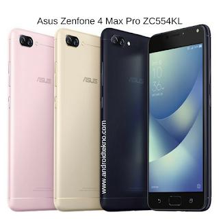 Harga dan Spesifikasi Asus Zenfone 4 Max Pro ZC554KL