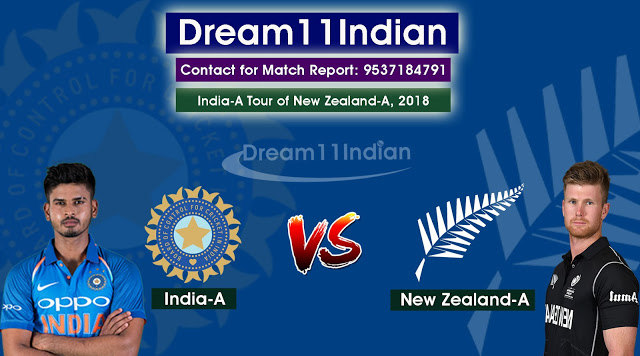 IN-A VS NZ-A DREAM11 PREDICTION IN-A VS NZ-A ONE-DAY