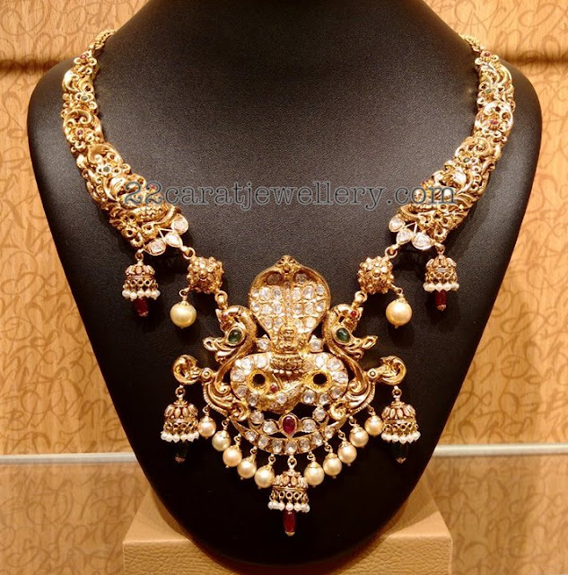 Nakshi Work Kante Jewellery Designs