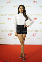 Pragya Jaiswal in lovely Black Mini Skirt and White Transparent Shirt ~  Exclusive 080.JPG