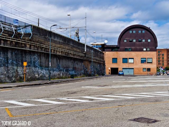 Graffiti Blu e Erica e il Cane