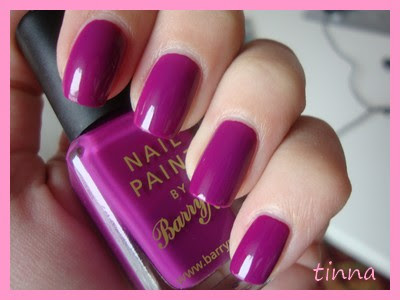 BARRY M - BRIGHT PURPLE & KONAD