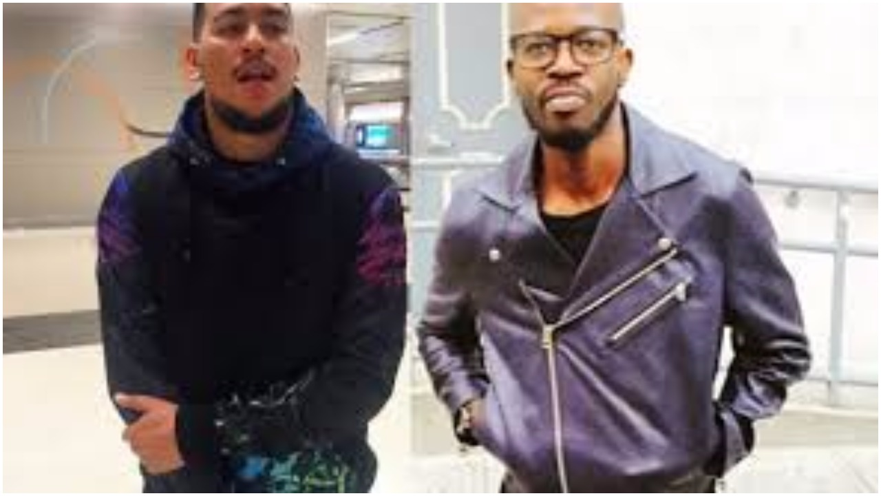 AKA threatens to cut off Black Coffee's other hand