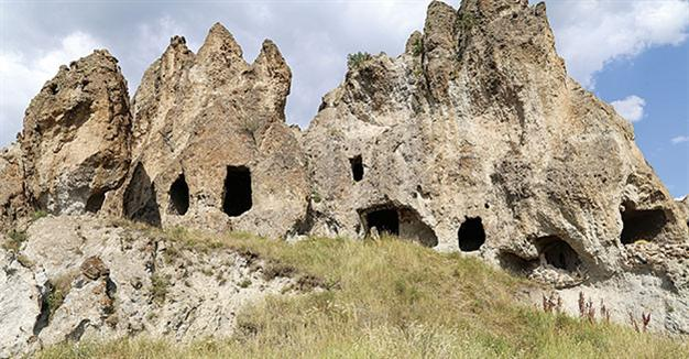 Rock hewn Byzantine Monastery in need of restoration