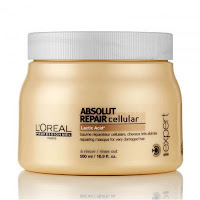 Source: Shopee Malaysia portal. L'Oreal Professionel Absolut Repair hair mask.