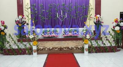dekorasi gereja untuk acara pernikahan indah dan bernuansa