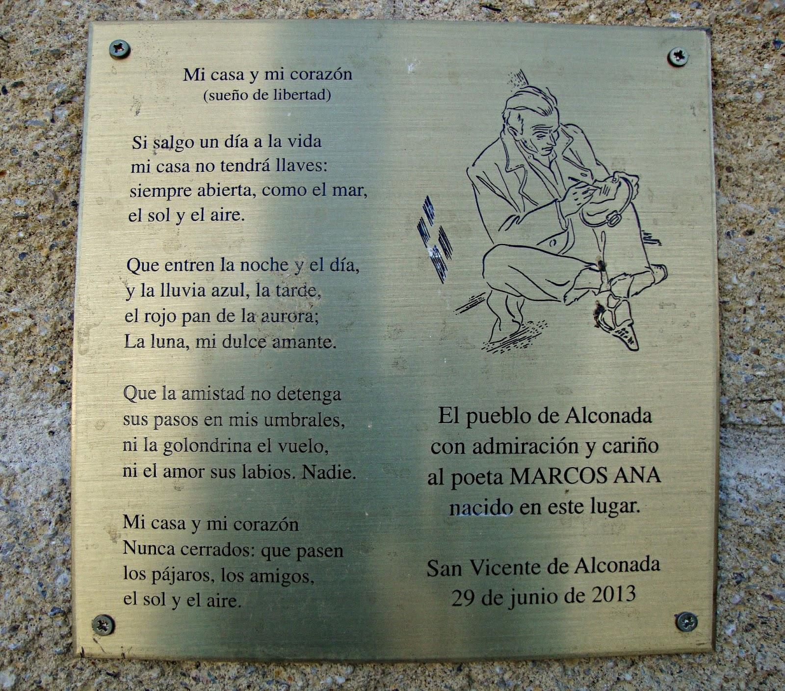 Marcos Ana, silencio de un poeta en su tierra. en Varlania
