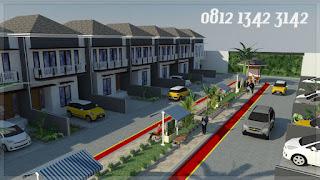 cluster mewah modern minimalis 2 lantai