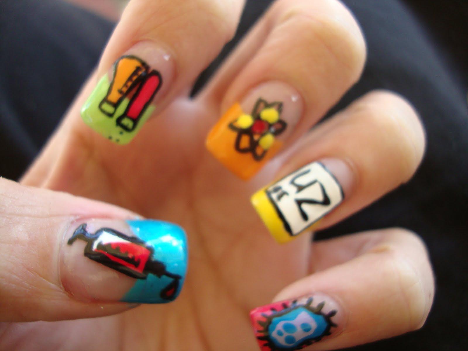 Y Nail Art Designs