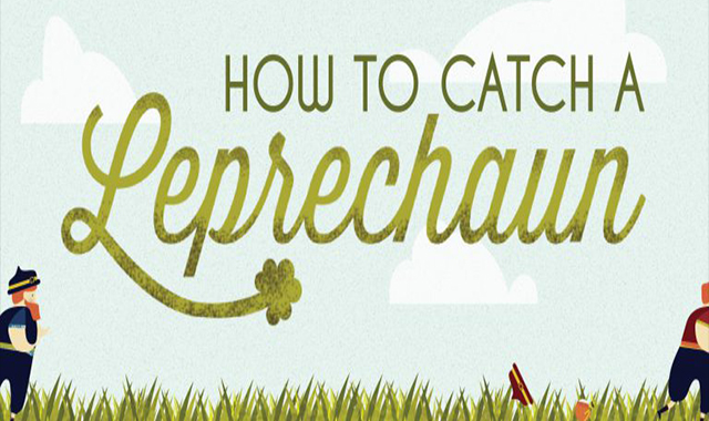 How To Catch A Leprechaun #infographic