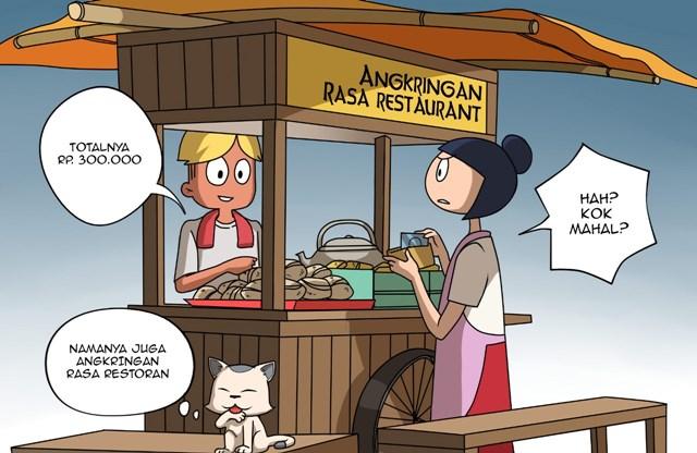 Angkringan Rasa Restoran