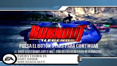 Burnout Psp rar