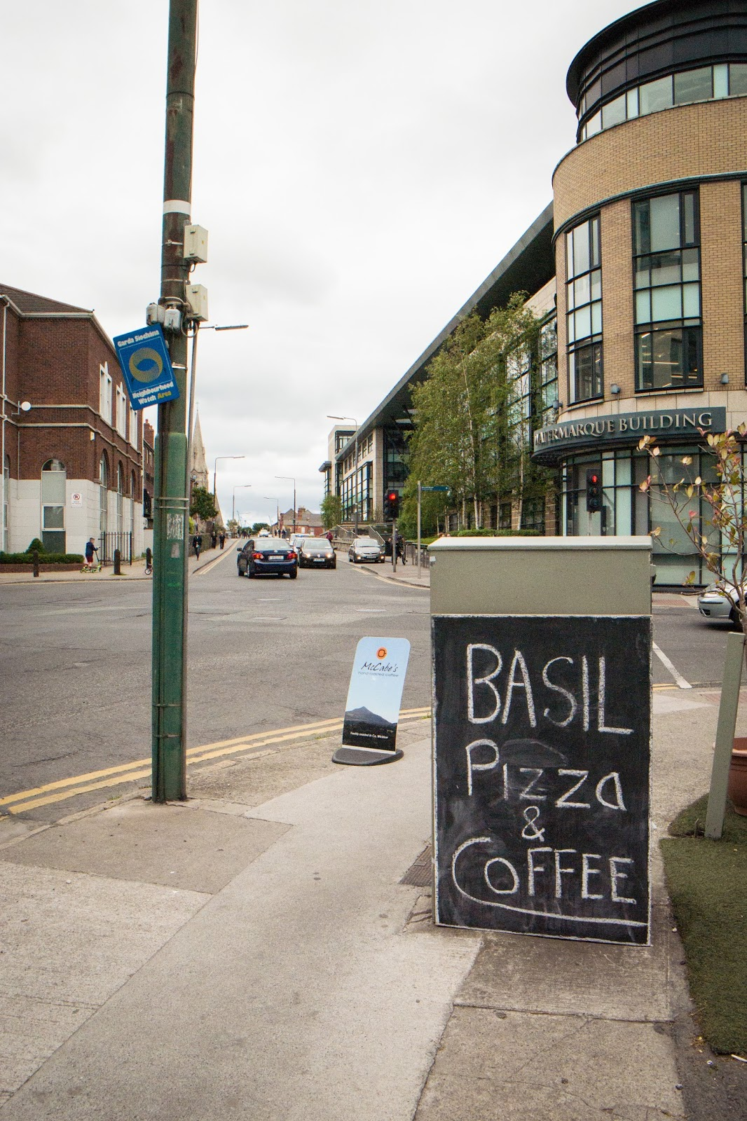 Basil Pizza Menu Dublin - best menu template design