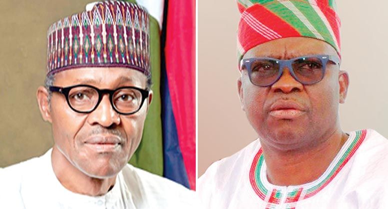 God is angry with Buhari for killing innocent people - Fayose