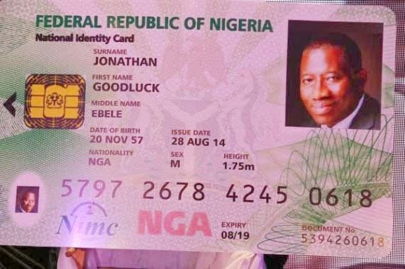 nigerian national id card
