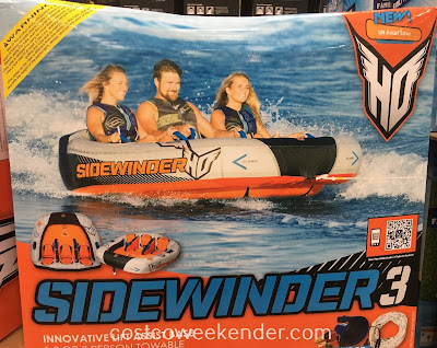 HO Sports Sidewinder 3 - new design for 2017 with Lift Assist for less water drag