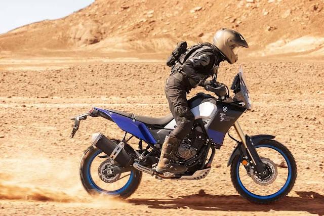 Ergonómica la Yamaha Tenere 700