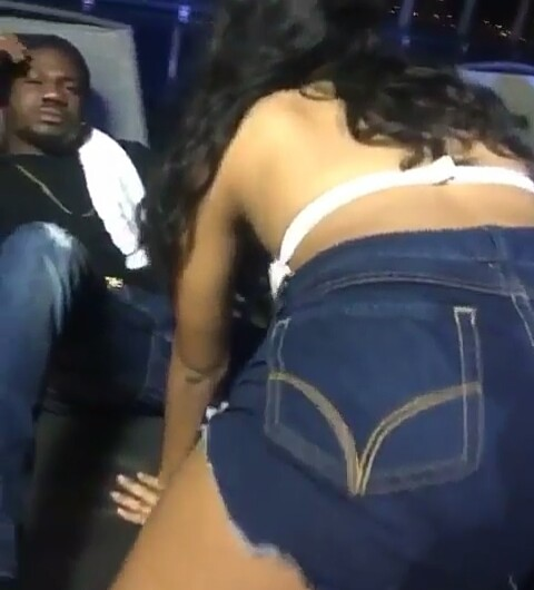 Black bitch anal gangbang