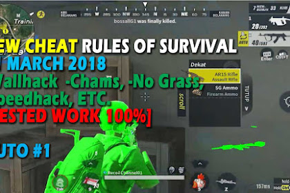Cheat Rules of Survival 6.0 Update 11 maret 2018 !