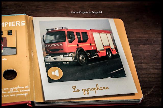 Les pompiers a écouter Auzou
