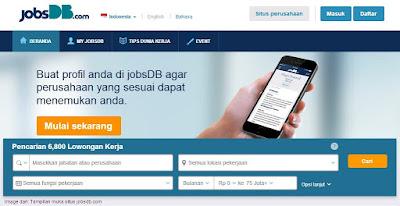 Jobsdb.com ~ Web Online Tempat Mencari Kerja Terpercaya