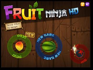 Fruit Ninja HD - Katılımsız Oyun