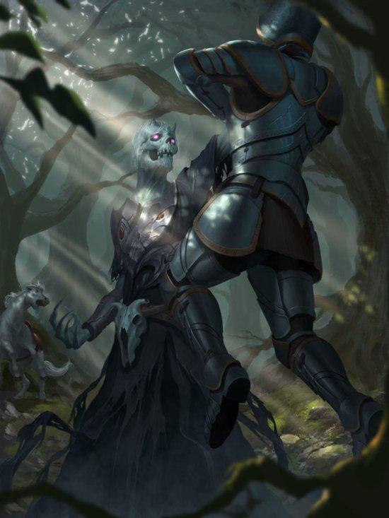 Iqnatius Budi artstation deviantart arte ilustrações fantasia terror games