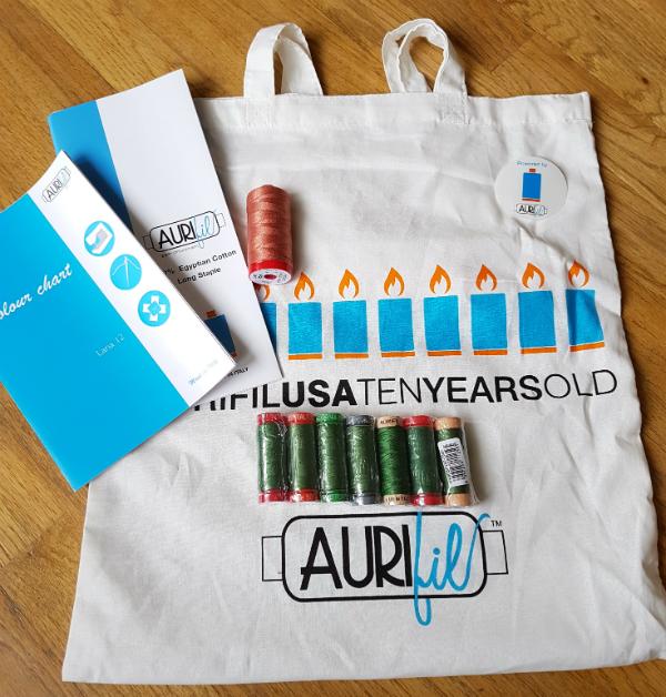 Island Batik ambassador box | DevotedQuilter.blogspot.com