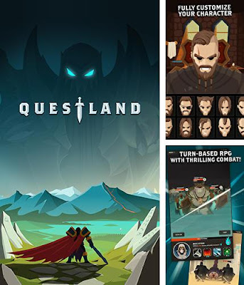questland android apk mod data gameplay download