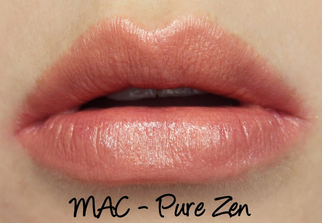 MAC MONDAY | MAC Pure Zen Lipstick swatches & Review