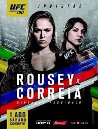 Assistir Ronda Rousey VS Bethe Correia UFC: 190 – Dublado Online – Ao Vivo