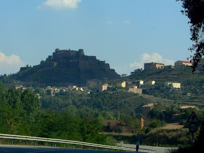 Cardona Castle in Catalonia