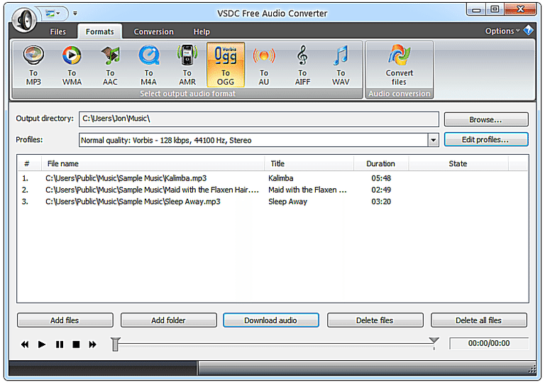 PC & Music TechnoGeek: 10 Free Audio Converter Programs Og Audio Converter on audio cable, audio editing software, audio coding 3, audio files, audio playlist, audio maker,