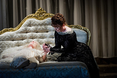 Rosalind Plowright, Natalya Romaniw - Tchaikovsky: Queen of Spades - Opera Holland Park (Photo Robert Workman)