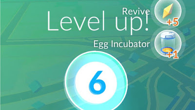 istilah level up, power up dan evolve pokemon go image