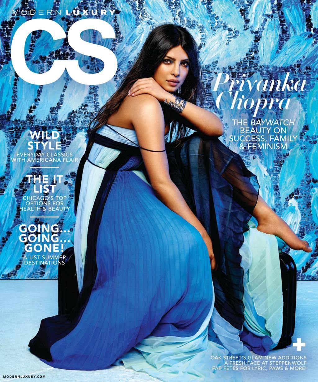 Priyanka Chopra Modern Luxury Photoshoot 2017 ~ Krazy ...