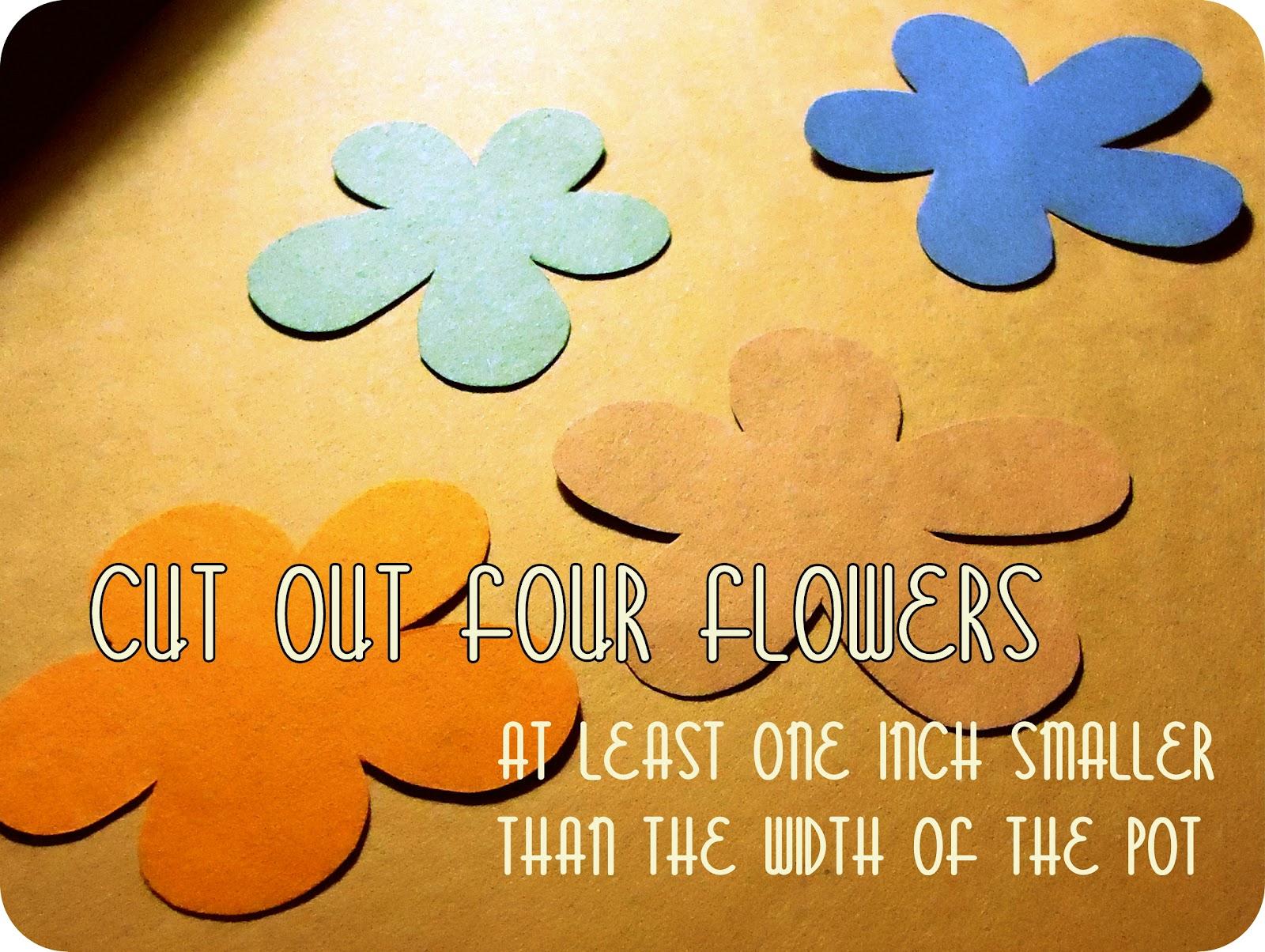 karewares diy mother's day flower pot card