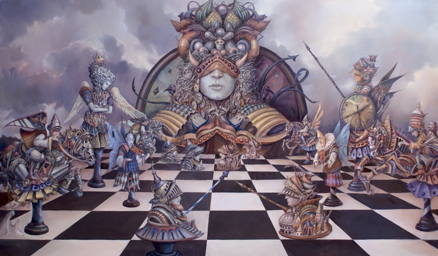 06-Niezwyciężony-Tomek-Sętowski-Surreal-Oil-Paintings-that-Tell-a-Story-www-designstack-co