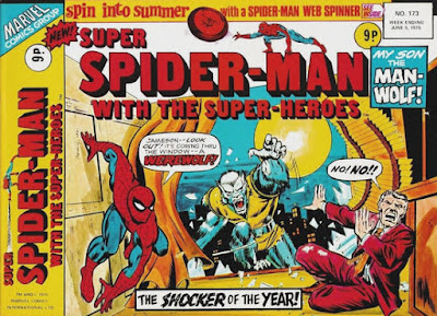 Super Spider-Man with the Super-Heroes #173, Man-Wolf